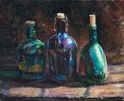 Tree bottles.