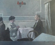 Au restaurant » Odessa-mama». Boris Rostov