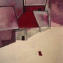 Nuit d'hiver Huile sur toile (81x60 cm). Alain Lamy