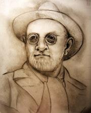 Portrait de Henri Matisse Fusain, Crayon 2008 (50x40 cm).