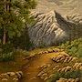 Sur les hauteurs montagnardes. Jean-Yves Saint Lezer