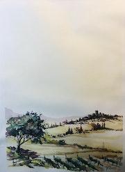 Italie Toscane Sienne. Hugues Bret