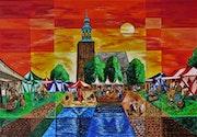 Nordhorn - Historischer Markt. Rainer Englisch