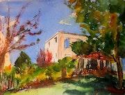 The garden. Leonid Kirnus