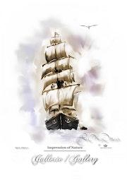 Das Segelschiff.