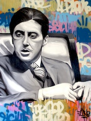 Al Pacino - The Godfather. Anthony Dbr -Toons