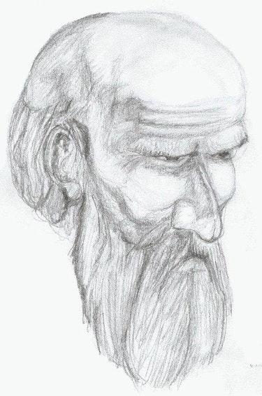 «Ensayo de Cabeza del Apóstol». Leon Xlll