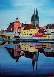 The Old City Germany Regensburg. Sprathoff