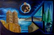 «El por qué de Durango» óleo sobre tela. Leon Xlll