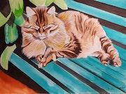 Le chat de Simone.