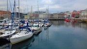 Puerto de La Coruña. M. Pilar