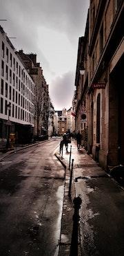 Une rue de Paris.