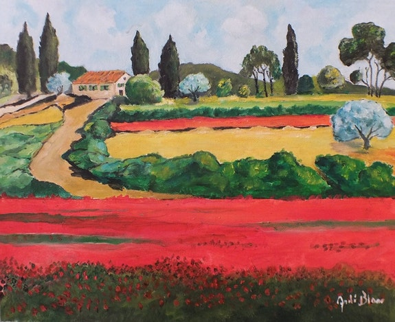 Couleurs Provence. André Blanc Andre Blanc