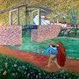 Two lovers. Revisite d'un dessin de van gogh. José Sousa