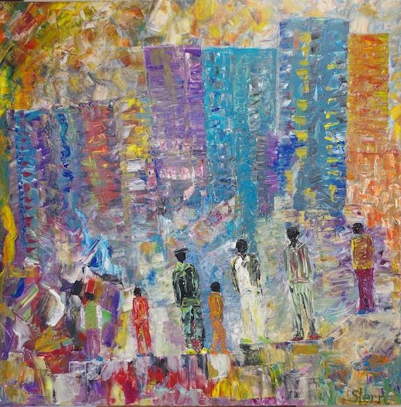 Collection «Seven» : in the City. Daniel Stern Daniel Stern