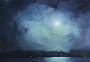 Clair de lune en bleu. Sunay Birik