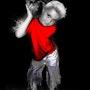 Mon fils - photomanipulation. Magloniki