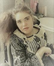 Portrait de ma fille.