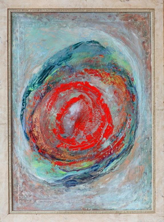 Modern painting «Longing». Ulyana Zavyalova Ulyana