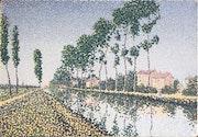 Canal de l'Ourcq.