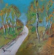 Le chemin. Michèle Devinante