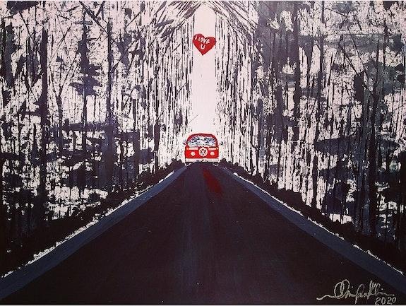Hippie Van Valentine. Ob Franklin Zion Art