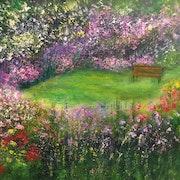 Le jardin anglais.