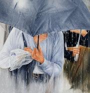 Pluie. Houmeau