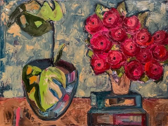 The Crimson Bouquet. Cmj Likens Cmj Art