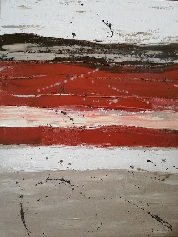 Abstrait n° 11 Hiver. Mc Lamorre Marie-Christine Lamorre