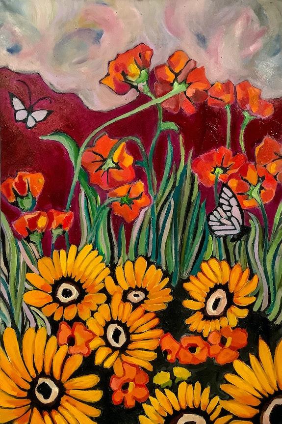 Flower Child. Cmj Likens Cmj Art
