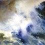 Genèse d'une vague. Anne Huet Baron
