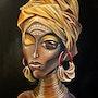 «African Beauty skurril». Simone Wilhelms