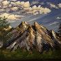 Les montagnes sous les nuages. Kate_Art
