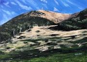 Mont Ventoux à l'automne. Kate_Art