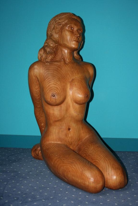 Statue Emilie. Jean Marie Delestre Jean Marie Delestre