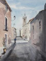 Rue de la Chapelle à Cournonterral.