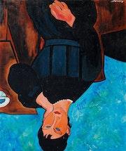 Portrait de femme. André Ledroit