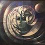Woman and moon. Juan Kancepolski