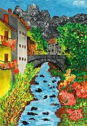 Pont sur Eaux vives..