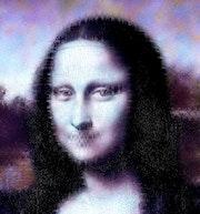 Crypto Mona Lisa. Mr Bruno Lalouette