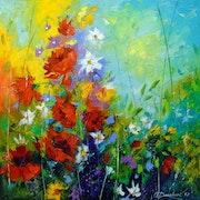 Dance of flowers.