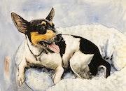Ollie (Pet Portrait). Taj Mattingly