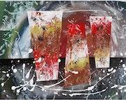 Nom de la toile «Alifa». Pierre Vacus