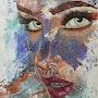 La fille aux yeux couleur menthe à l'eau. Anny Burtscher-Beaudoin