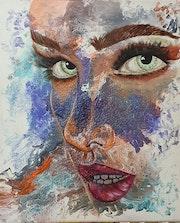 La fille aux yeux couleur menthe à l'eau.