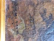 Francisco Ribera Gómez signature original. Ali Berrada