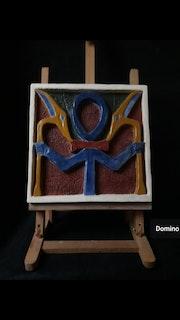 Ankh (la croix de la vie éternelle). Domino