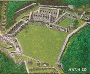 Ruines de la cité inca, Choquequirao, soeur de Machu Picchu.