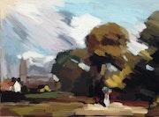 Etude en cours 10-Hommage 1 à John Constable.